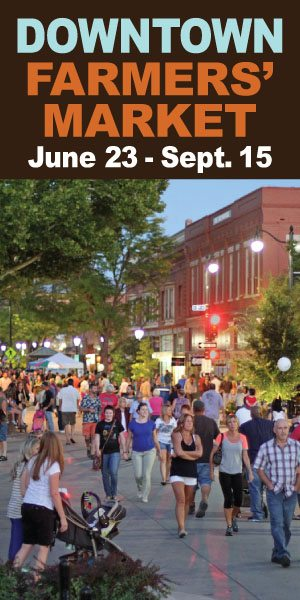 2016 Downtown Farmer Market June 23 - September 15